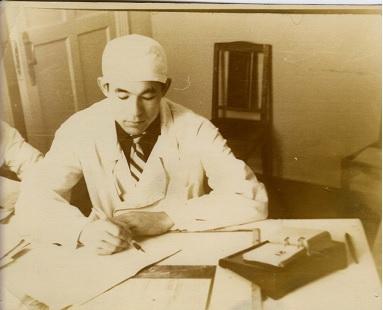 1964 год. Врач в г. Сибай.