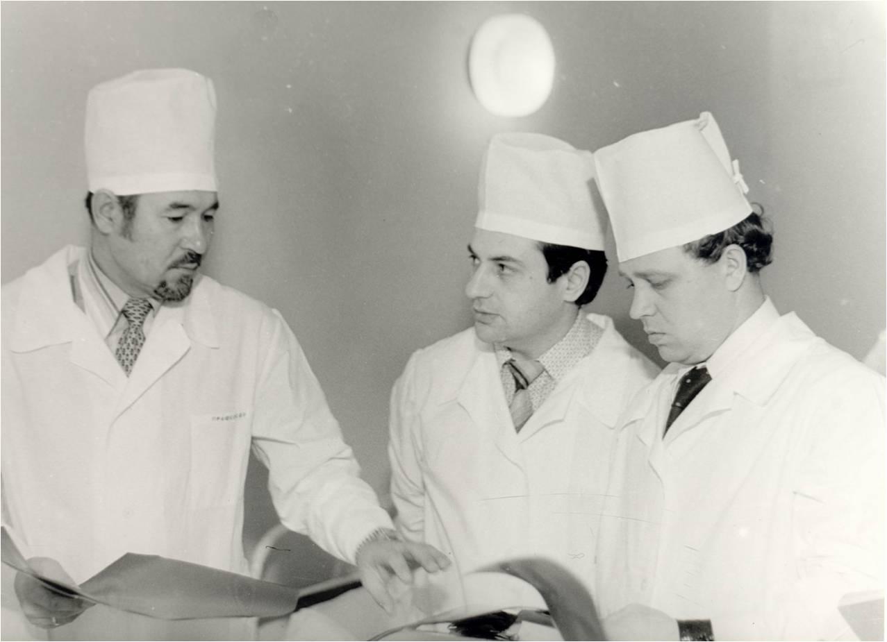 1983 г. В больнице № 21.